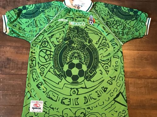 1999 Mexico Home Football Shirt Adults XL